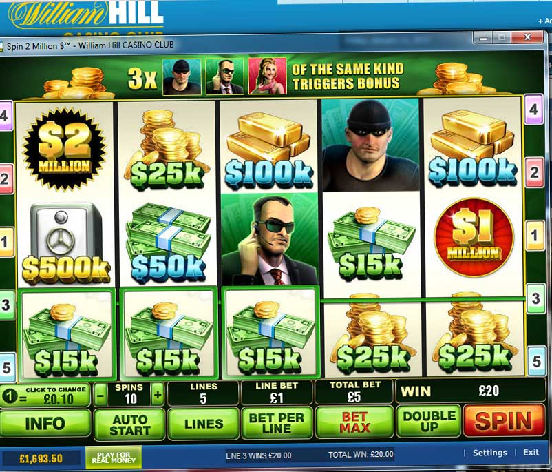 william hill online casino hammer 2