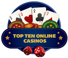 top ten online casinos logo